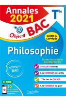Annales bac 2021 philosophie term