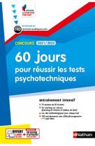 60 jours pour reussir les tests psychotechniques - concours 2021/2022 - n 56 (ifp)