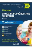 Concours auxiliaire de puericulture territorial 2021-2022 - tout-en-un