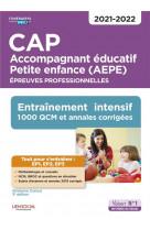 Cap accompagnant educatif petite enfance - epreuves professionnelles - ep1, ep2 et ep3 - entrainemen