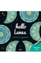 Cartes a gratter mini - hello lunes