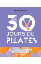 30 jours de pilates - un programme ideal pour ceux qui veulent s-initier aux pilates