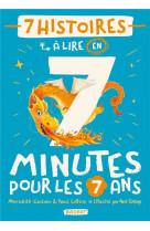 7 histoires a lire en 7 minutes pour les 7 ans