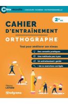 Cahier d-entrainement - orthographe