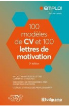 100 modeles de cv et 100 lettres de motivation