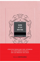 Burn after writing - l-edition francaise officielle