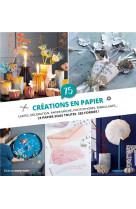 75 creations en papier