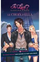 Carter corp - le choix d-ella - un roman interactif is it love ?
