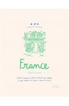 Carnet du voyageur france - carnet d-adresses, de notes et d-activites pour voyager au petit bonheur
