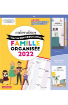 Calendrier  chacun son programme famille organisee 2022 - a chacun son programme