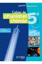 Cahier de physique chimie 5e - regaud/vento