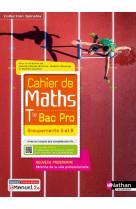 Cahier de maths - term bac pro - groupements a et b (spirales) - livre + licence eleve 2021
