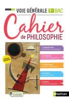 Cahier de philosophie - term voie generale - eleve 2021