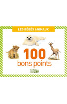 100 bons points bebes animaux