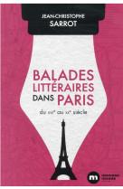 Balades litteraires dans paris
