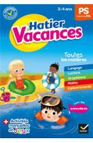 Cahier de vacances 2021 de la petite section vers la moyenne section 3/4 ans
