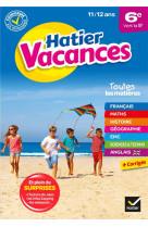 Cahier de vacances 2021 de la 6e vers la 5e - pour reviser son annee dans toutes les matieres