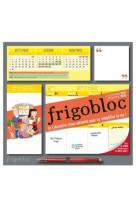 Frigobloc hebdomadaire 2022 - calendrier d-organisation familiale  / sem (de sept. 2021 a dec. 2022)
