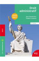 Les fondamentaux - droit administratif 2020-2021