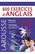 800 exercices d-anglais