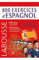 800 exercices d-espagnol
