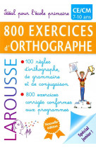 800 exercices d-orthographe / primaire