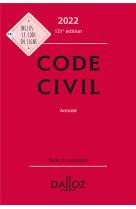 Code civil 2022, annote - 121e ed.
