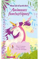 Animaux fantastiques - mon kit d-activites (licornes)