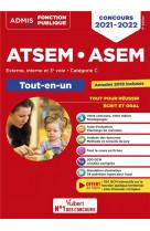 Concours atsem et asem - categorie c - tout-en-un - agent (territorial) specialise des ecoles matern