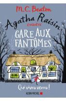 Agatha raisin enquete 14 - gare aux fantome s - qui vivra verra !