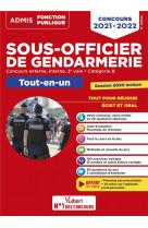 Concours sous-officier de gendarmerie - categorie b - tout-en-un - 20 tutos offerts - gendarme exter