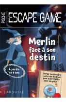 Escape de game de poche junior - merlin echappera-t-il a son destin?