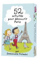 52 activites pour decouvrir paris