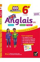 Anglais 6e - lv1 (a1 vers a2) - cahier d-en trainement et de revision