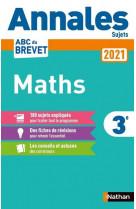 Annales brevet 2021 maths - non corrige
