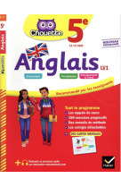 Anglais 5e - lv1 (a1+, a2) - cahier d-entrainement et de revision