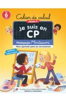 Cahier de calcul niveau 2 - pedagogie montessori - mieux apprendre grace aux neurosciences