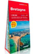 Bretagne 1/300.000 (carte grand format laminee)