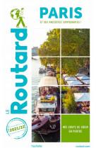 Guide du routard paris 2021/22