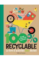 100% recyclable - le livre d-activites zero dechet