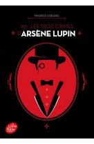 813 - les trois crimes d-arsene lupin - nouvelle edition a l-occasion de la serie netflix