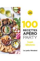 100 recettes apero party- super debutants