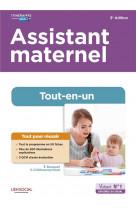 Assistant maternel - tout-en-un - preparation complete pour reussir sa formation