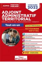 Concours adjoint administratif territorial - categorie c - tout-en-un - concours externe, interne, 3