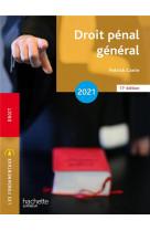 Fondamentaux - droit penal general 2021