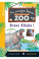 1eres lectures une saison au zoo - bravo k boko !