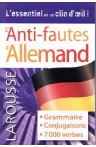 Anti-fautes allemand
