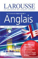 Dictionnaire larousse maxipoche plus anglai s 2 en 1