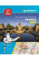 Atlas routier france 2021 plastifie