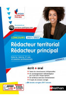Concours redacteur territorial et redacteur principal - categorie b (integrer la fonction publique)